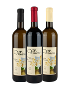 Slovenské vína Valent - suché, polosladké, sladké, rybízové